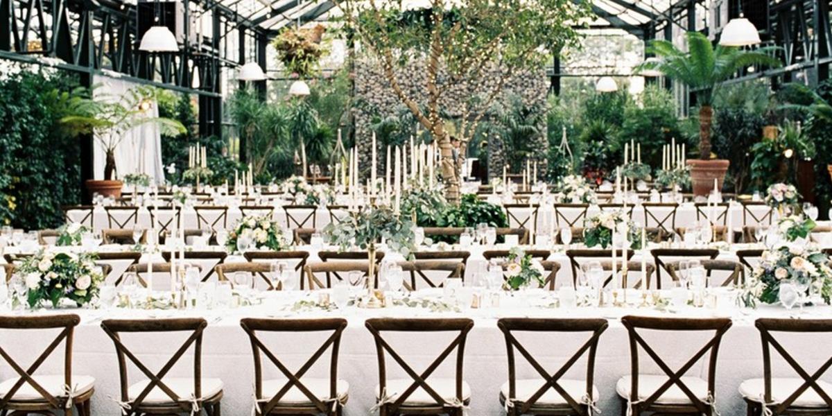 Planterra Conservatory wedding Detroit