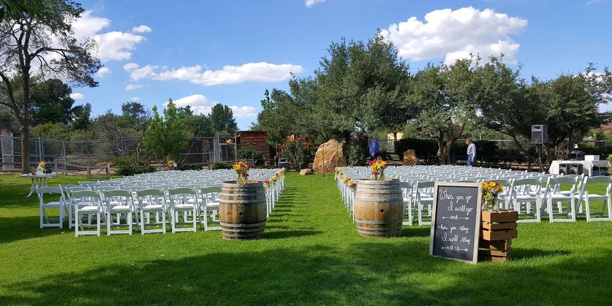Heritage Park Zoological Sanctuary wedding Sedona/Flagstaff