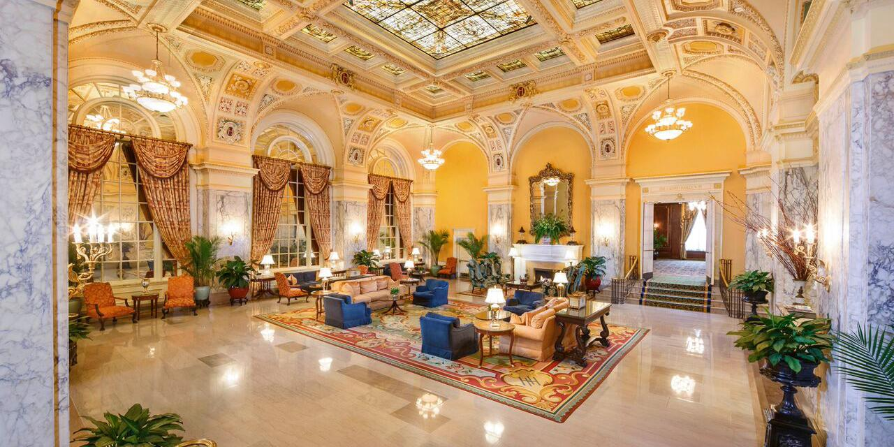 The Hermitage Hotel wedding Nashville