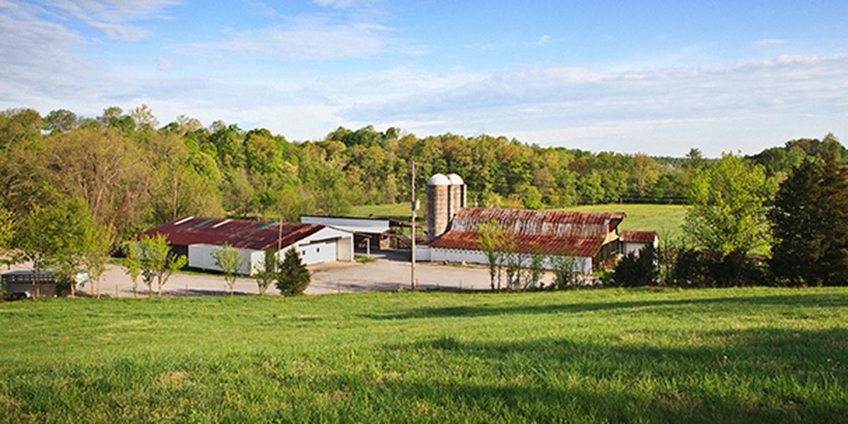 The Pole Barn at Double H Farms wedding Nashville