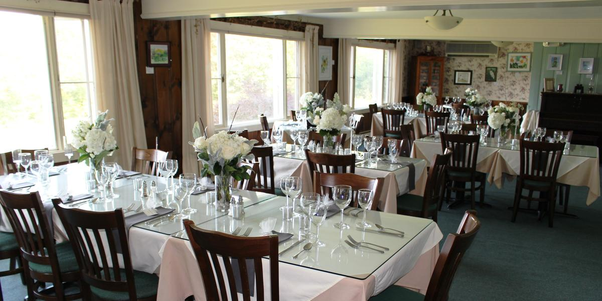 Darby Field Inn and Restaurant wedding Great North Woods/White Mountains