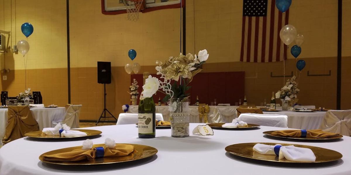 Bernie Ward Community Center wedding Macon