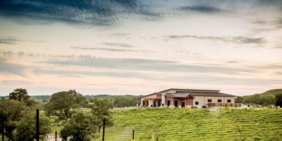 Liquid Art Winery And Estate wedding Kansas City