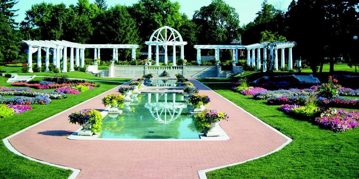 Lakeside Park & Rose Garden wedding Northeast Indiana