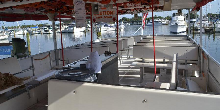 Pier Dolphin Cruises wedding Tampa