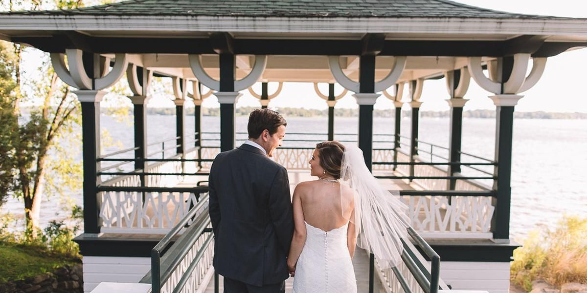 Noerenberg Gardens wedding Minnesota