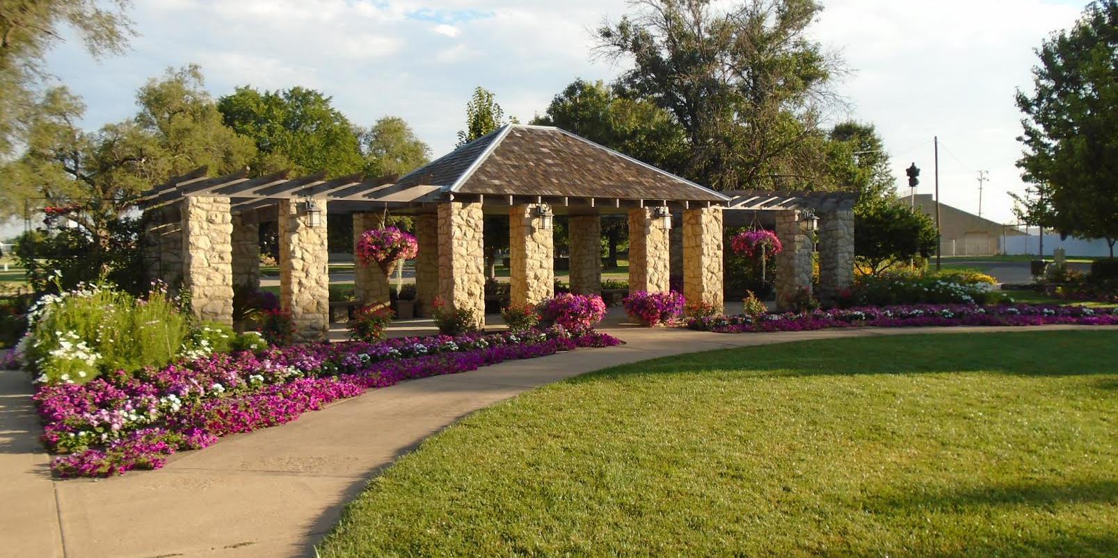 Eisenhower Park Rose Garden wedding Kansas City