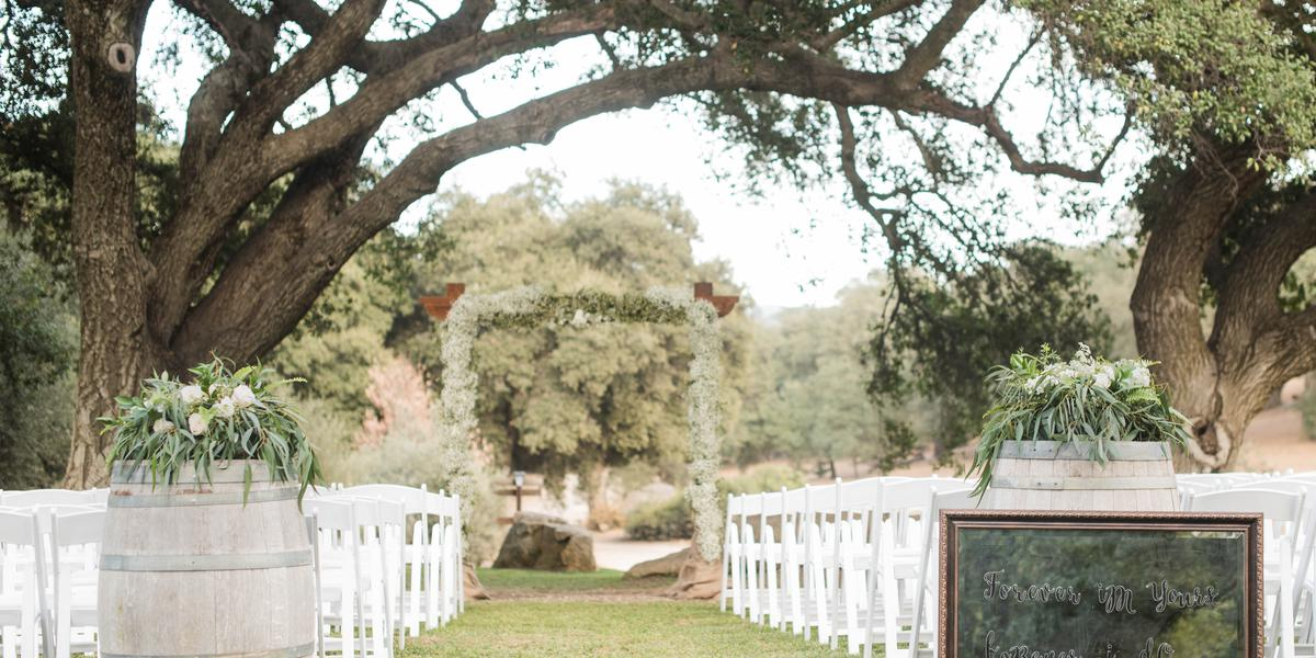 Milagro Winery wedding San Diego
