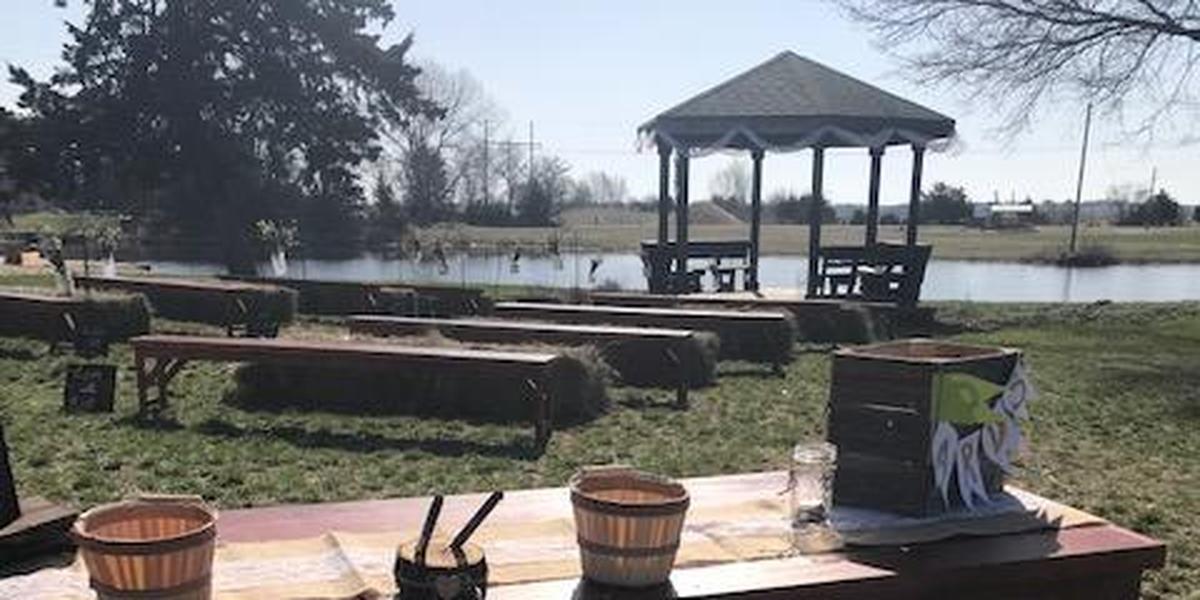 Timberlake Ranch Camps wedding Nebraska