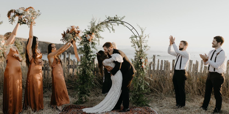 Switzer Farm wedding Mendocino