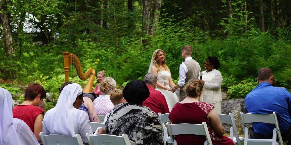 Alaska Botanical Garden wedding Alaska