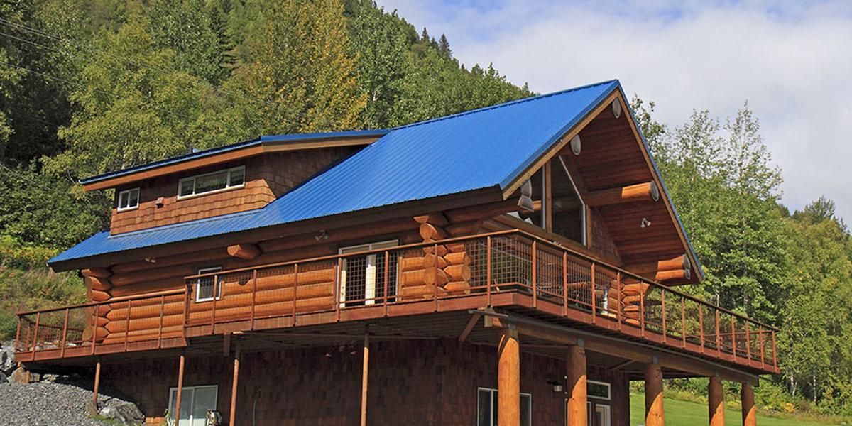 Turnagain View Lodge wedding Alaska