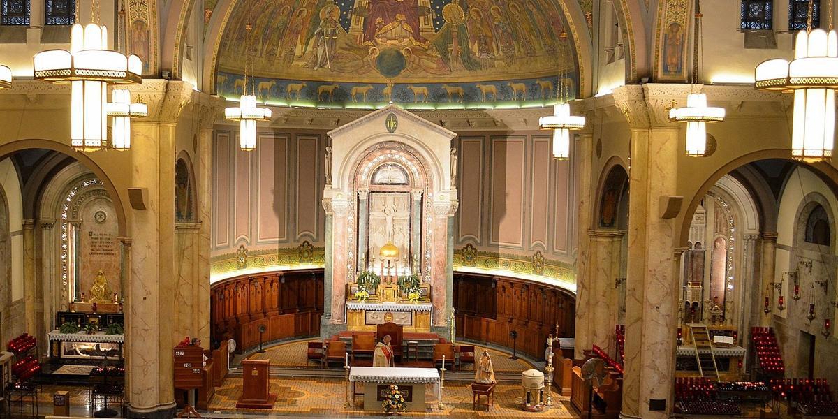 Our Lady Of Consolation Shrine Cafeteria wedding Toledo