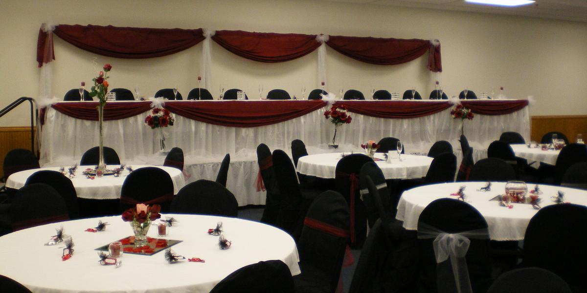 Treynor Community Center wedding Des Moines