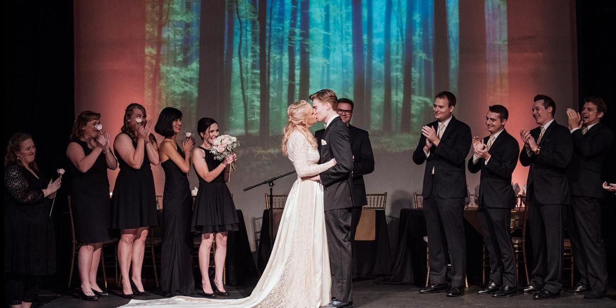 North Garden Theater wedding Minnesota