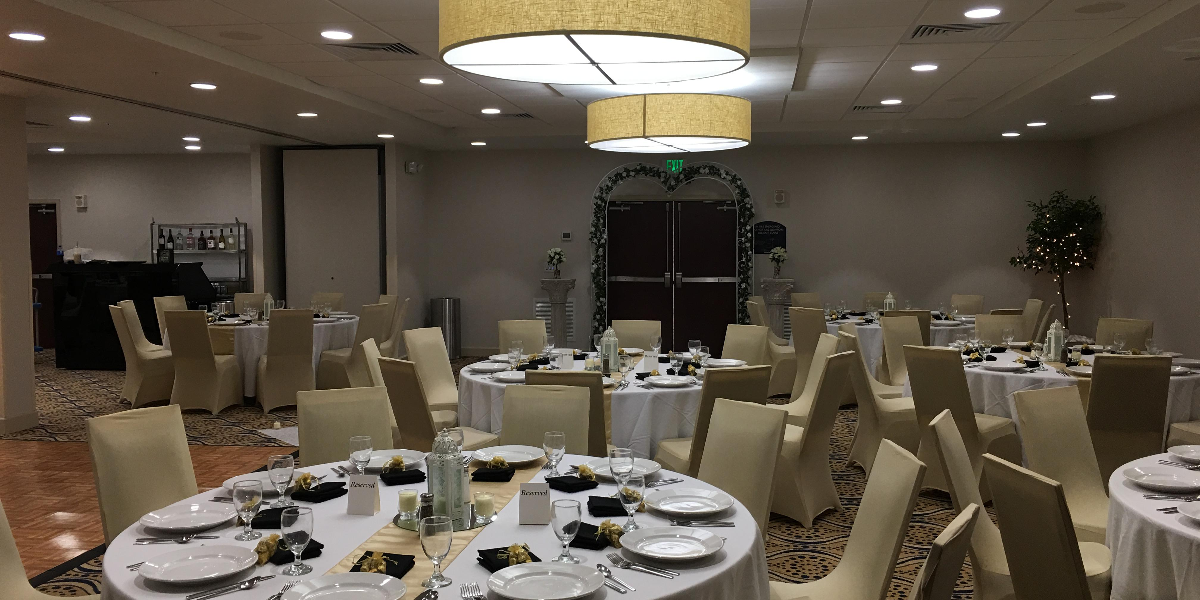 Holiday Inn University Center Gainesville wedding Jacksonville