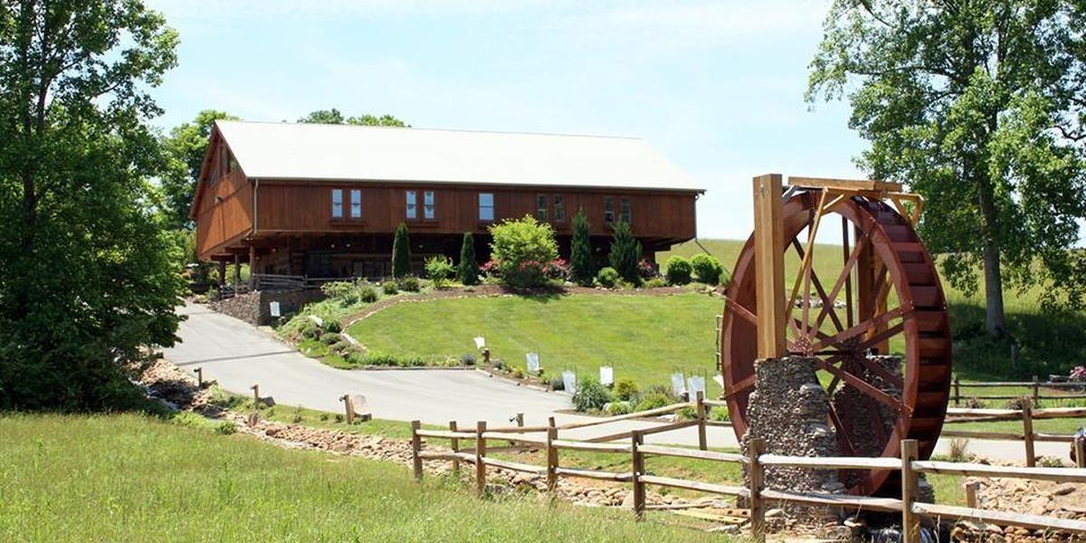 Barn Event Center of the Smokies wedding Gatlinburg
