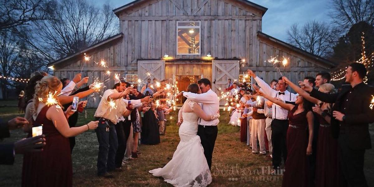 The Farm at Lullwater wedding Southern Alabama