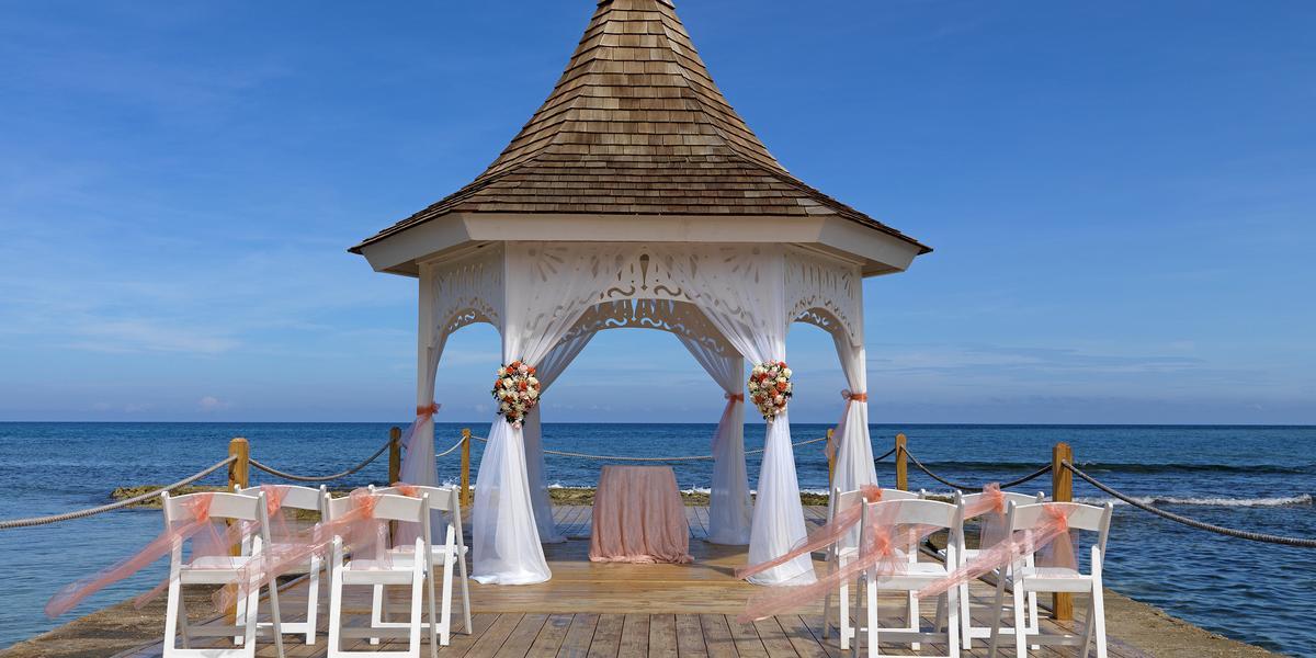 Melia Braco Village wedding Jamaica