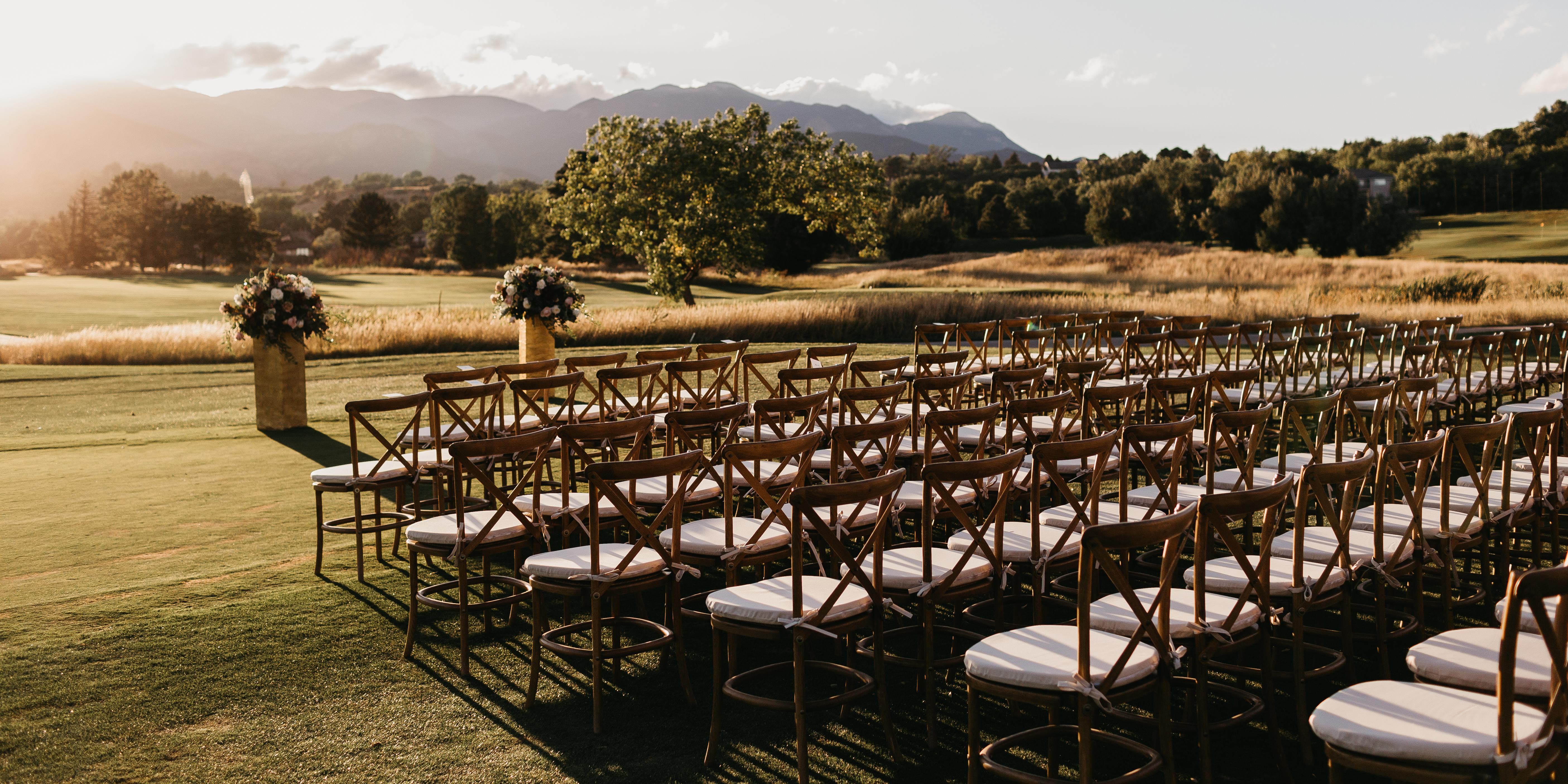Cheyenne Mountain Resort wedding Colorado Springs
