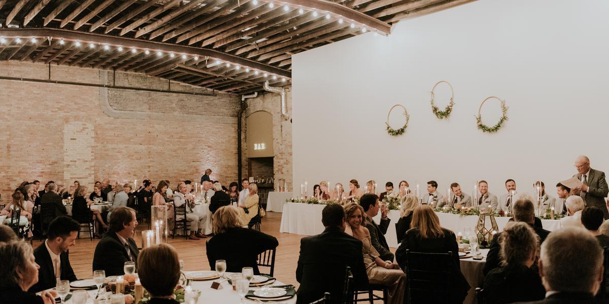The Harris Building wedding Grand Rapids