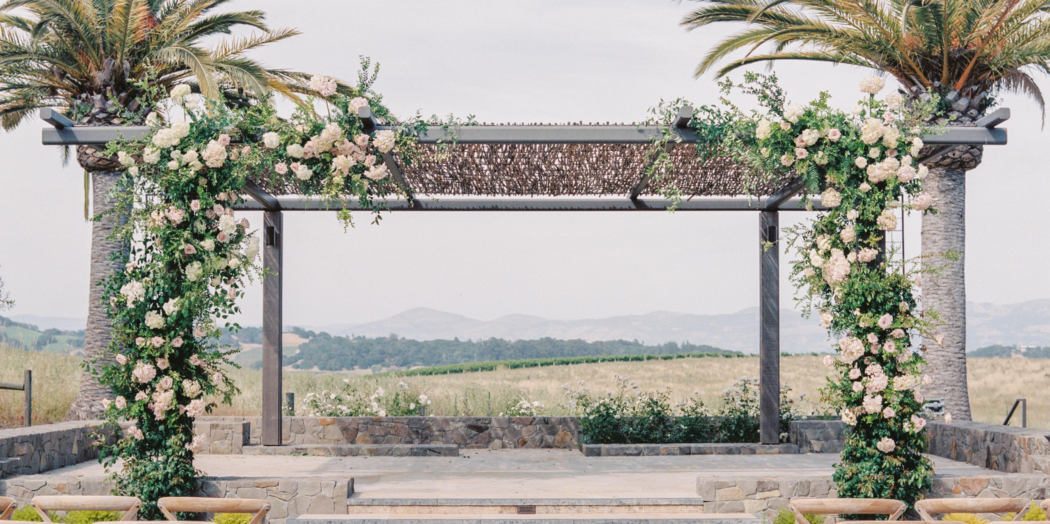 Carneros Resort and Spa wedding Napa/Sonoma