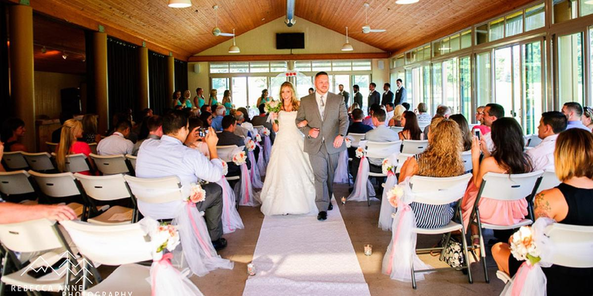 Allenmore Golf And Events Center wedding Tacoma