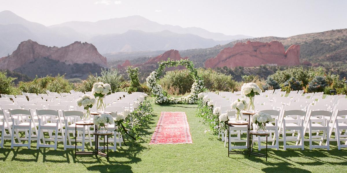 Garden of the Gods Club & Resort wedding Colorado Springs