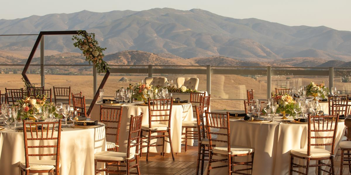 The Rooftop at Jamul Casino wedding San Diego