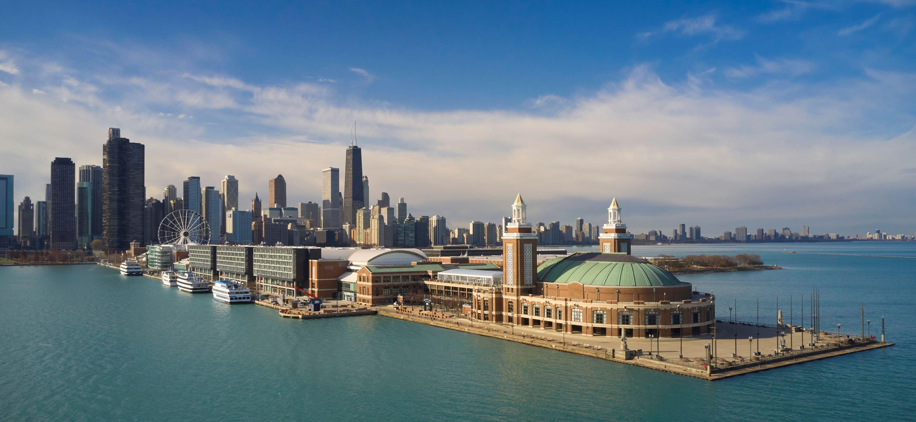 Sable at Navy Pier Chicago, Curio Collection by Hilton wedding Chicago