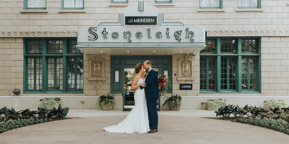 Le Meridien Dallas, The Stoneleigh wedding Dallas