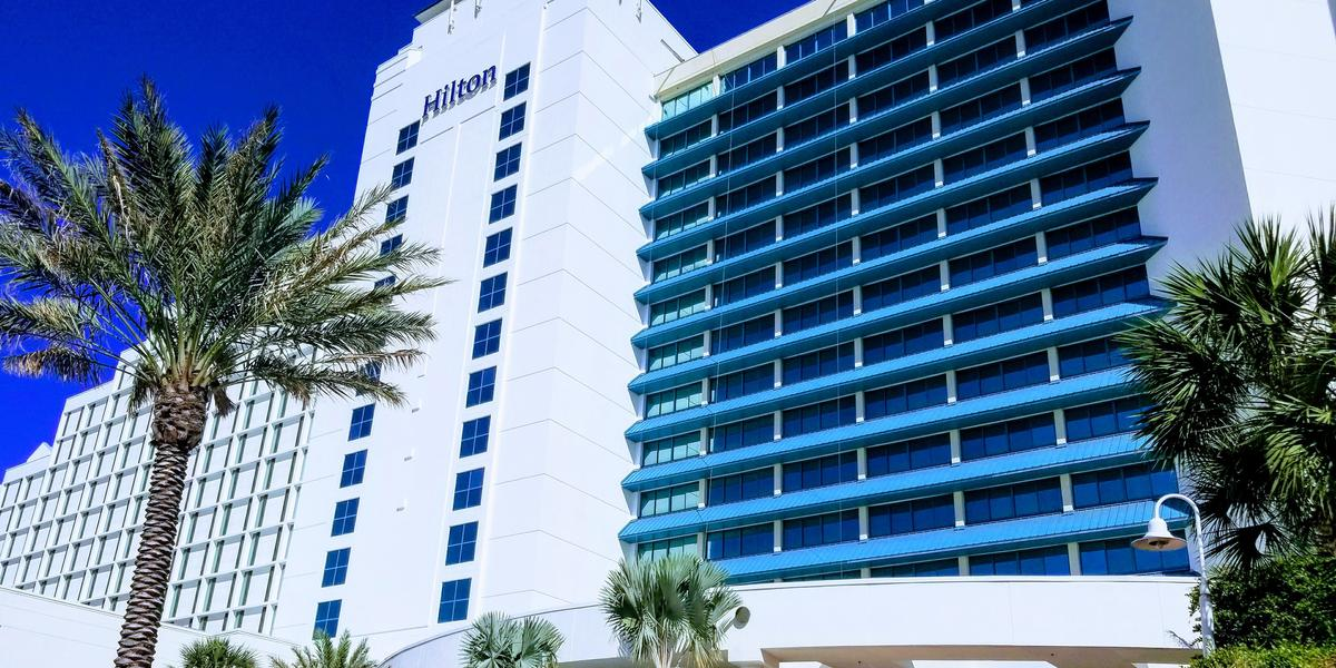 Hilton Daytona Beach Oceanfront Resort wedding Northwest Florida