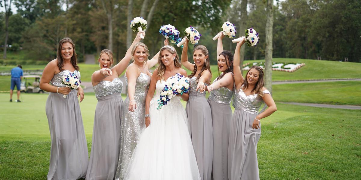 North Hills Country Club wedding Long Island