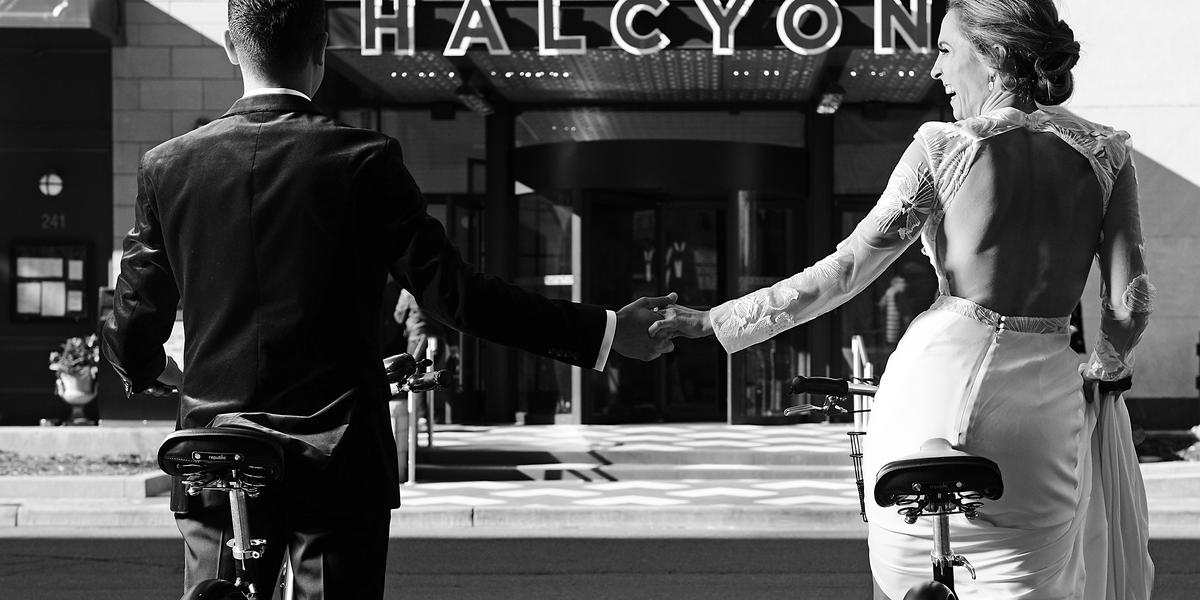 Halcyon Hotel Cherry Creek wedding Denver