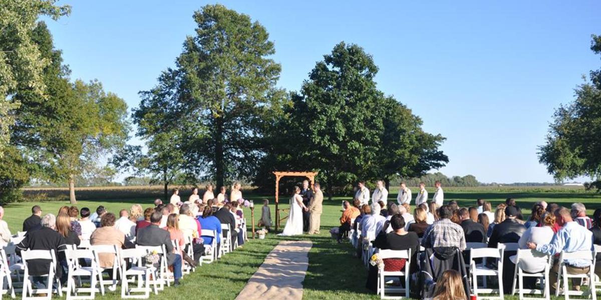 1912 Barn wedding Central Illinois