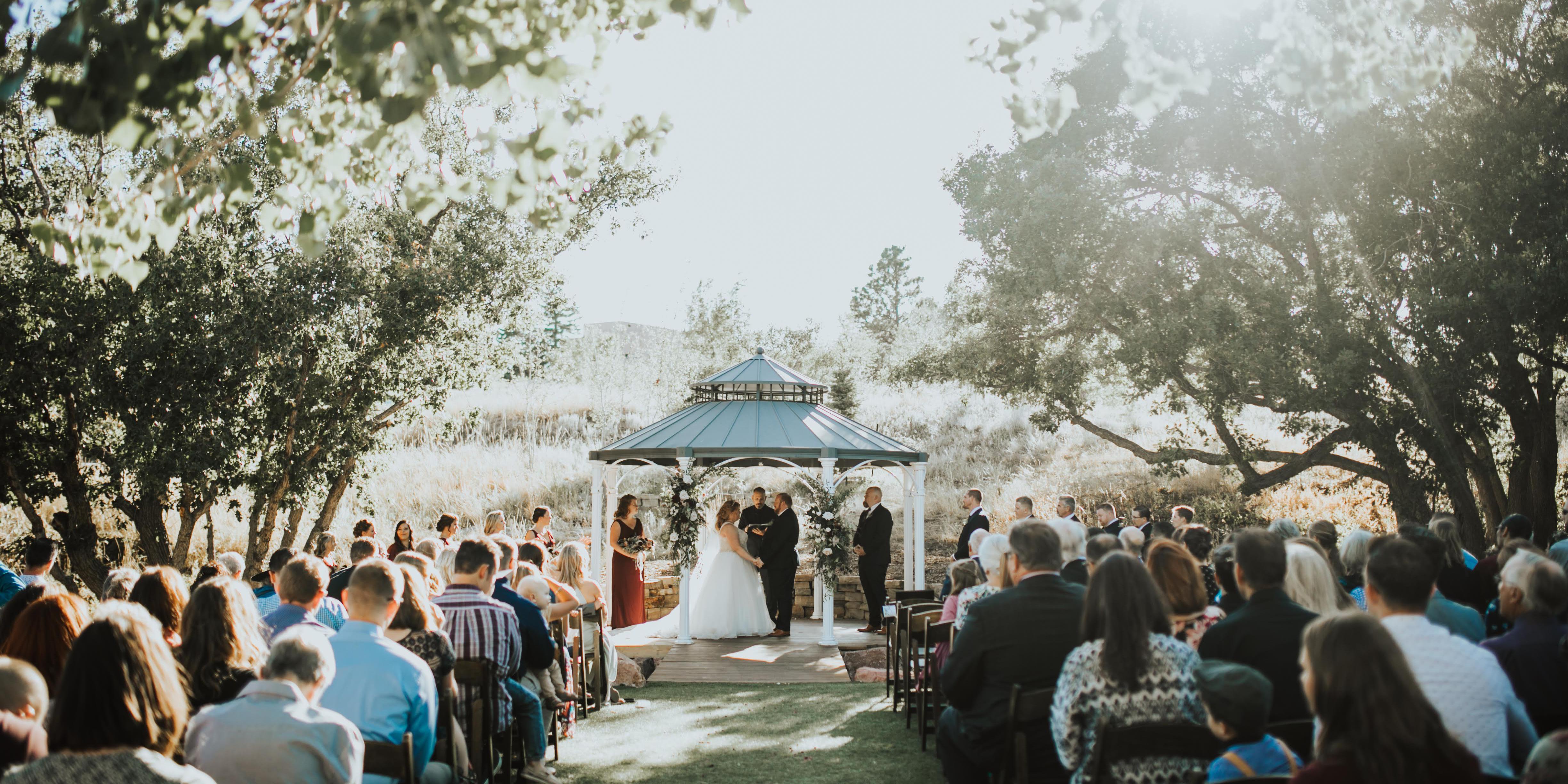 Creekside Event Center wedding Colorado Springs
