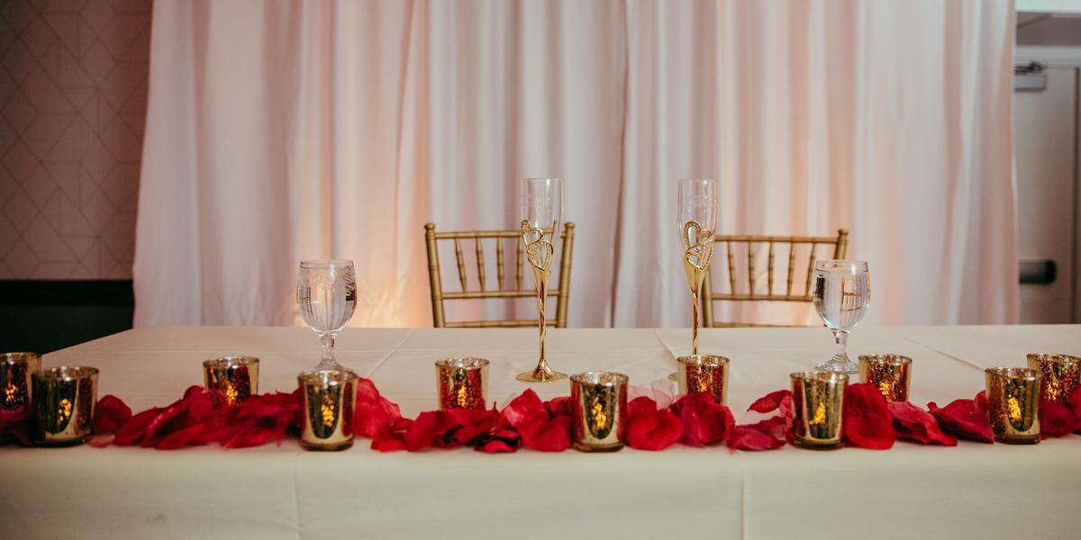 Crowne Plaza Lansing West wedding Lansing
