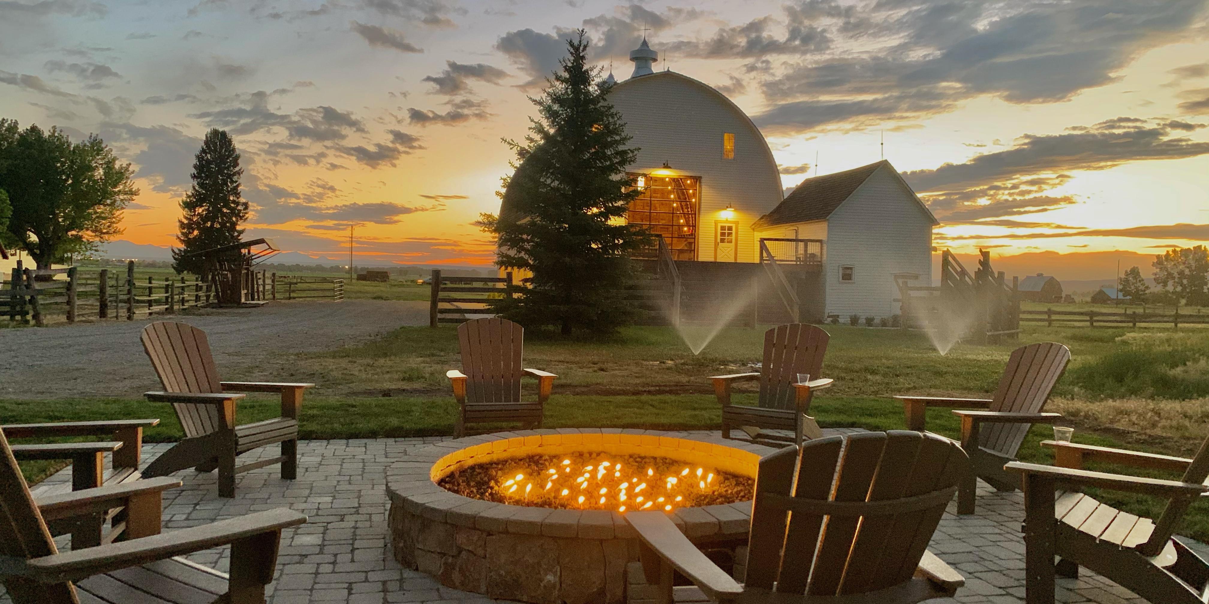 Star M Barn wedding Montana