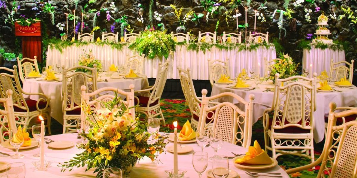 Pagoda Hotel wedding Honolulu