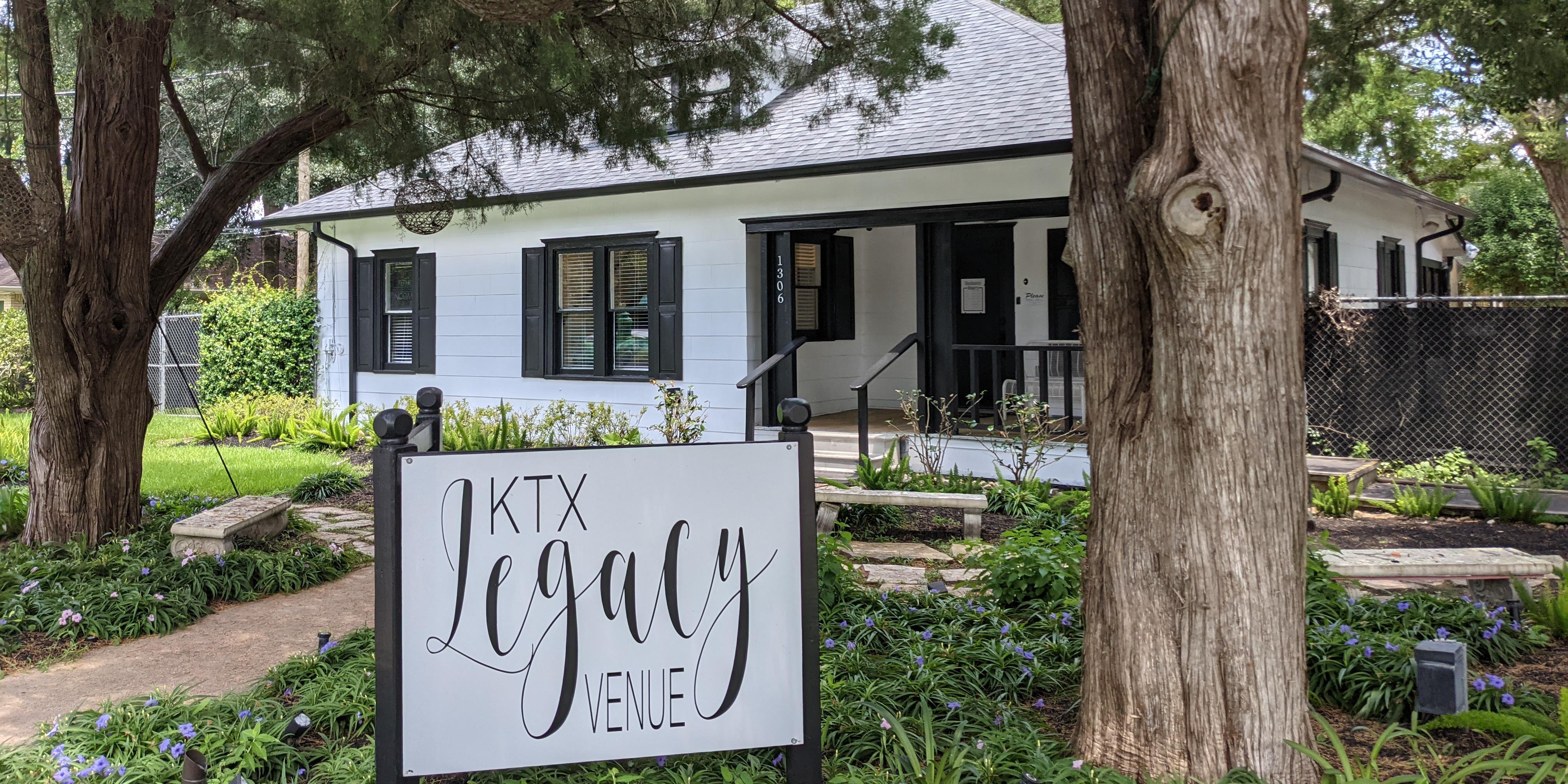KTX Legacy Venue wedding Houston