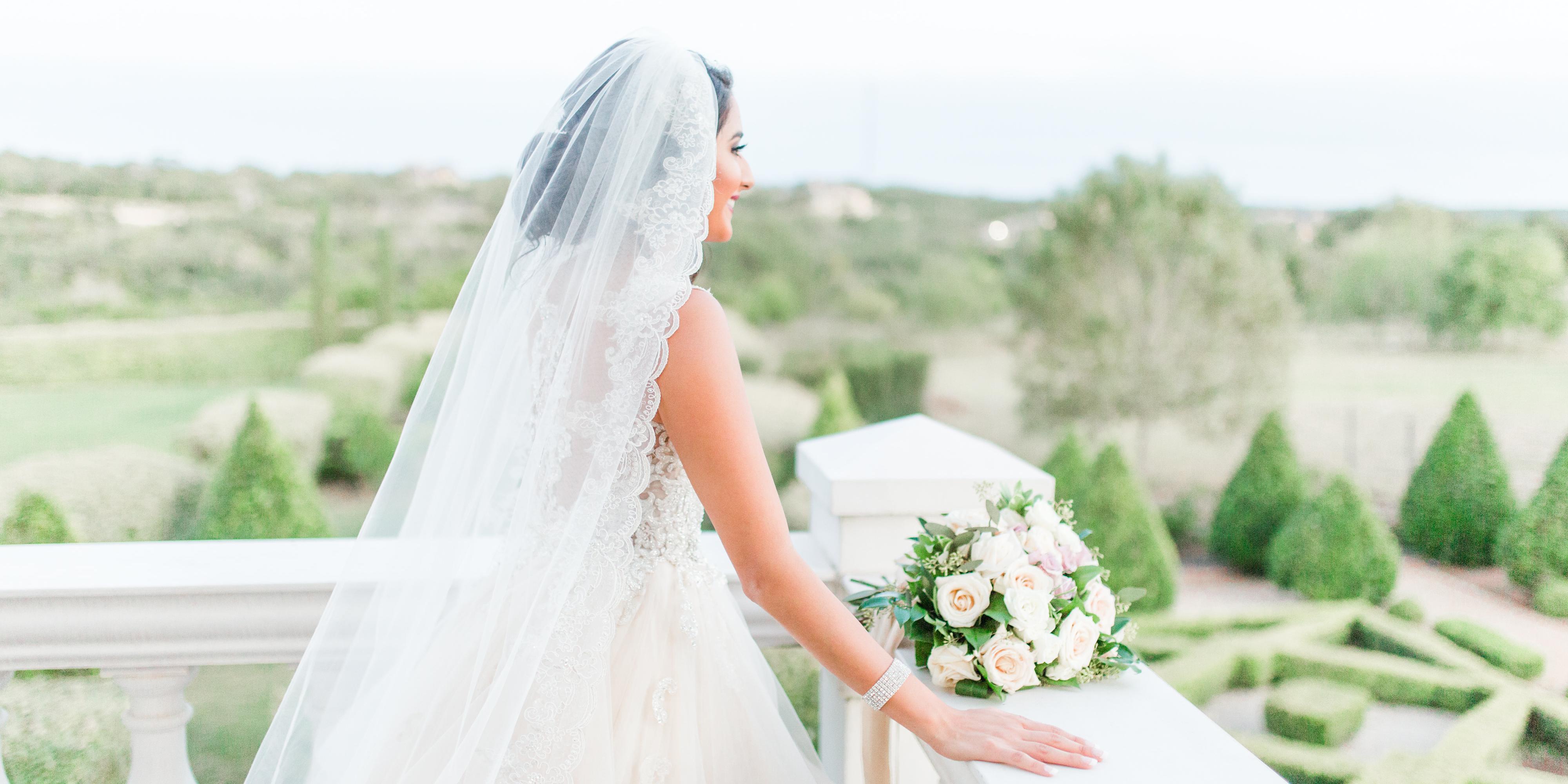 The Gardens of Cranesbury View wedding San Antonio