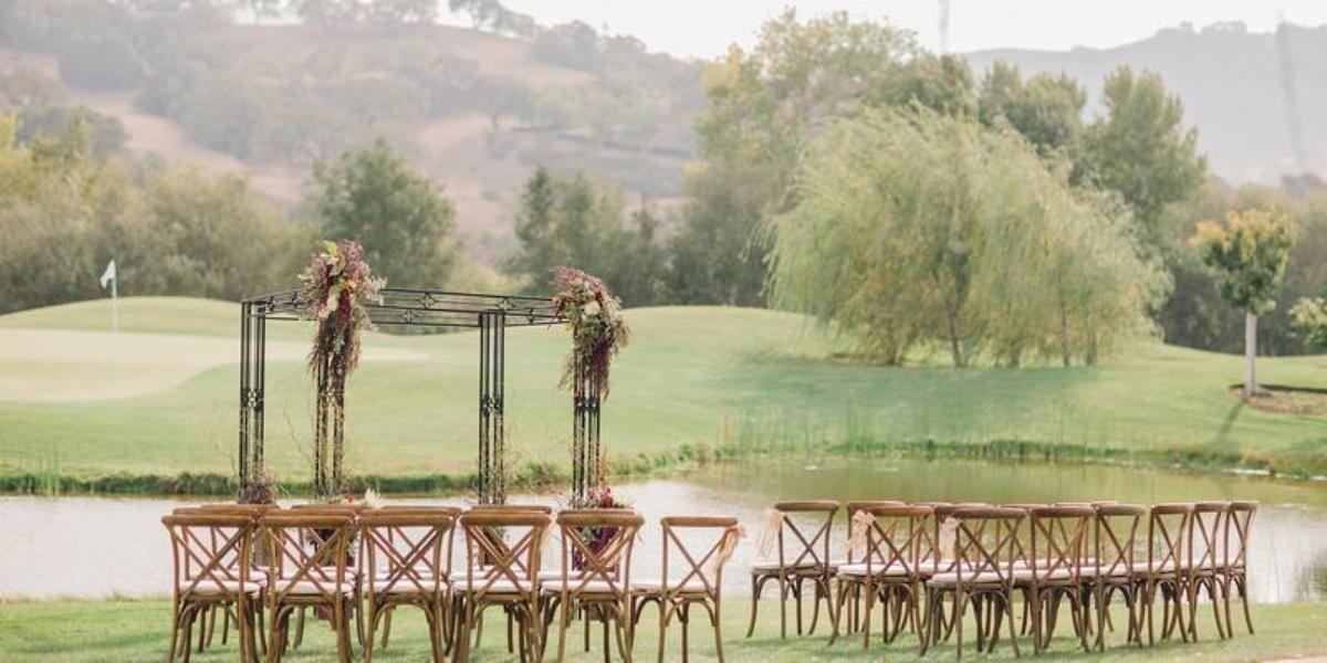 Alisal River Terrace wedding Santa Barbara