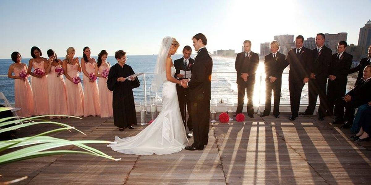 One Atlantic wedding Atlantic City
