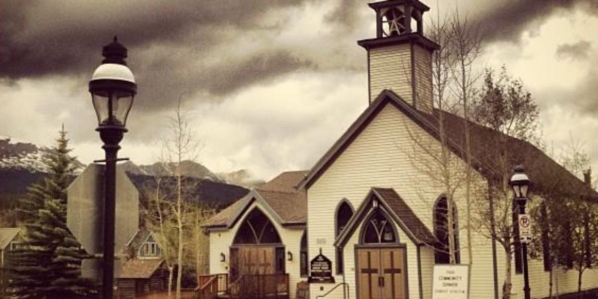Father Dyer Church wedding Denver