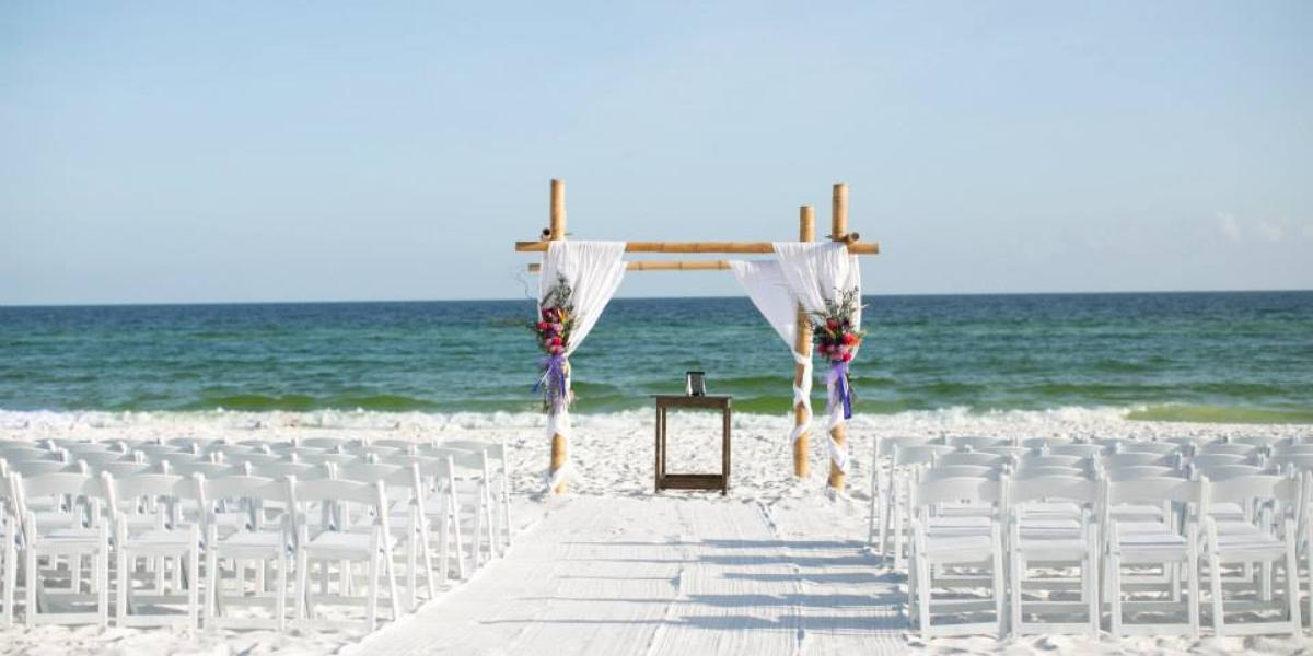 Seascape Golf, Beach, and Tennis Resort wedding Northwest Florida