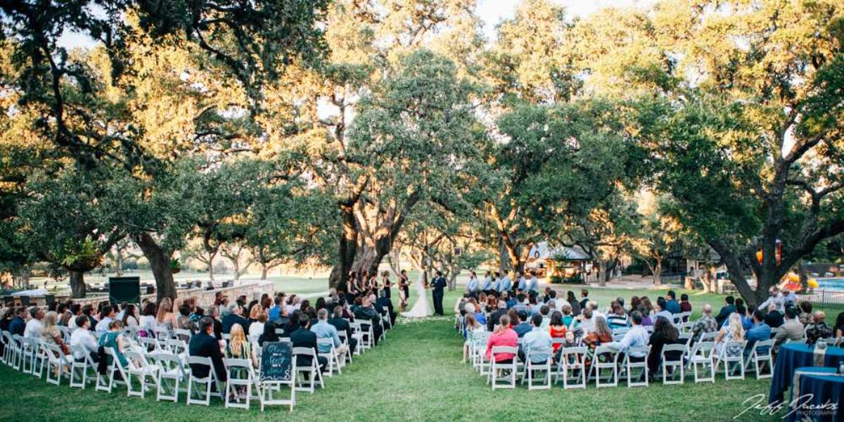Fair Oaks Ranch Golf & Country Club wedding Hill Country