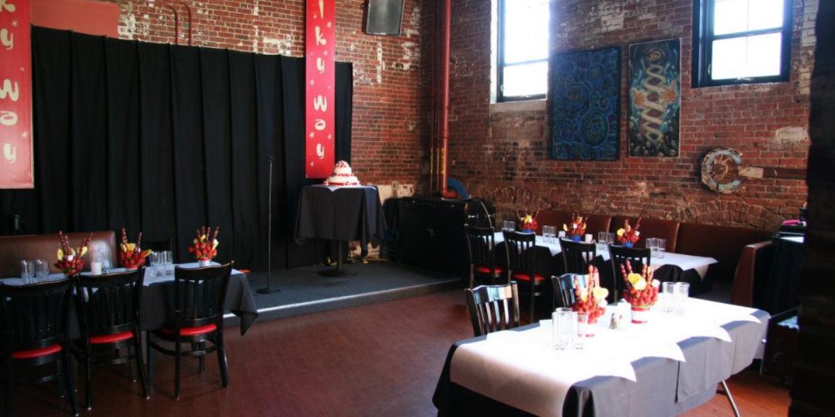 Bella Luna Restaurant & Milky Way Lounge wedding Boston