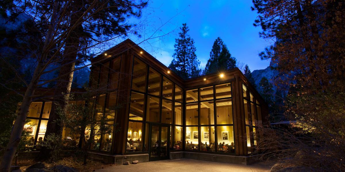 Yosemite Valley Lodge wedding Yosemite
