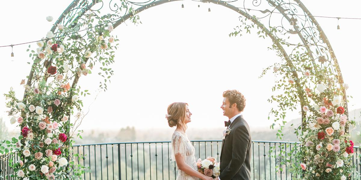 Padua Hills Theatre wedding Los Angeles