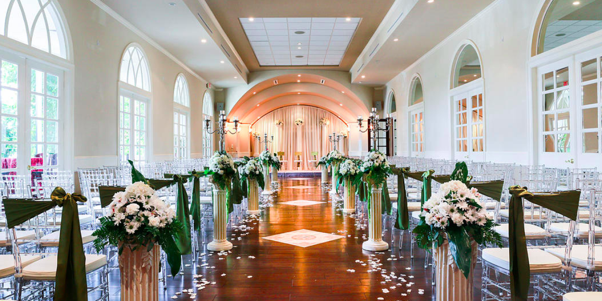 The Bougainvilleas Event Center wedding Houston